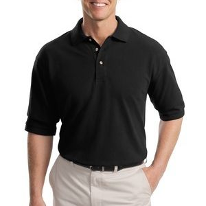 Tall Heavyweight Cotton Pique Polo Thumbnail