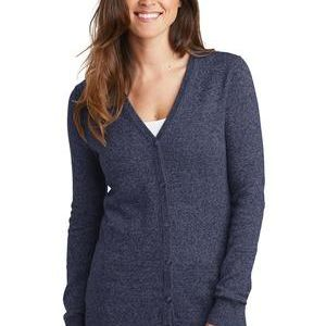® Ladies Marled Cardigan Sweater Thumbnail